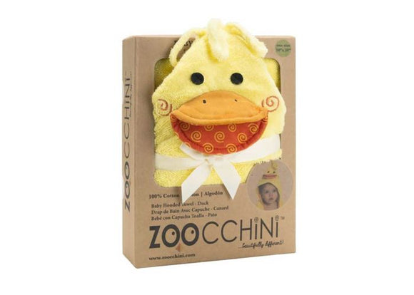 Zoocchini Baby Hooded Towel Duck