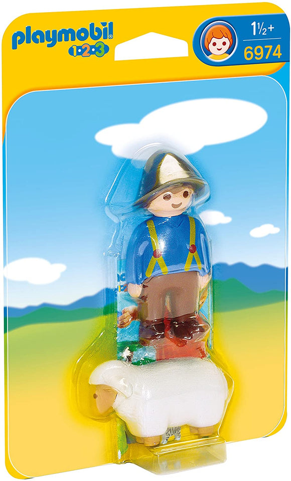 Playmobil 123, 6974 Shephard w/Sheep