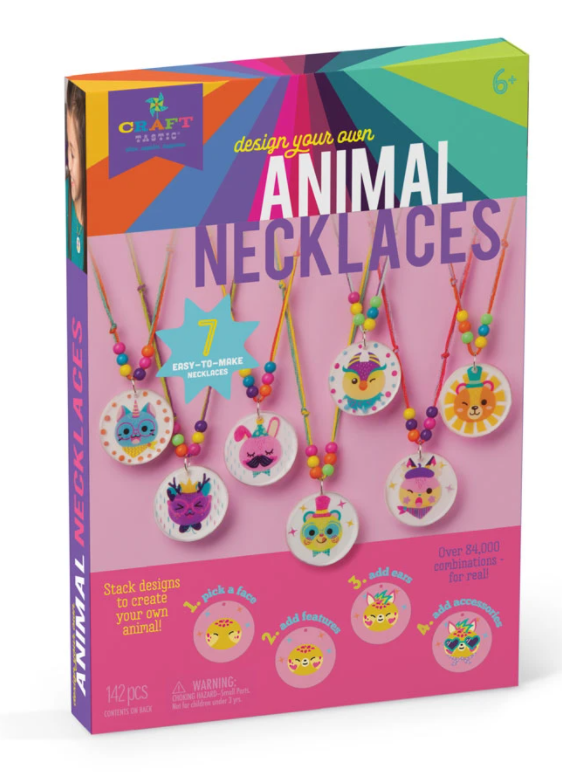Craft-tastic Animal Necklaces