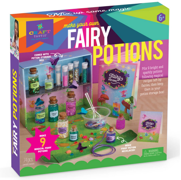 Craft-tastic Fairy Potions