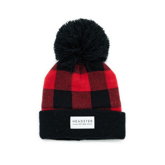 Headster Winter Hat Buffalo Lined Fleece