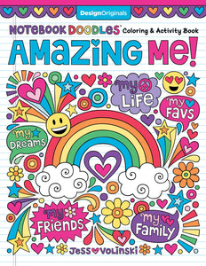 Amazing Me! Notebook Doodles Coloring & Activity Book