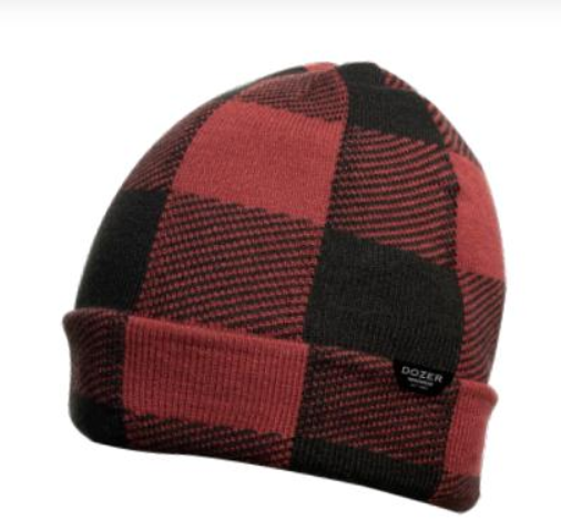 Dozer Winter Hat BALE Red