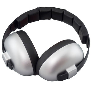 Banz Infant Hearing Protection Earmuffs, Silver