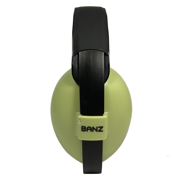 Banz Infant Hearing Protection Earmuffs, Leaf Green