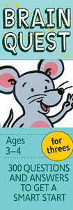 Brain Quest Ages 3-4 For Threes