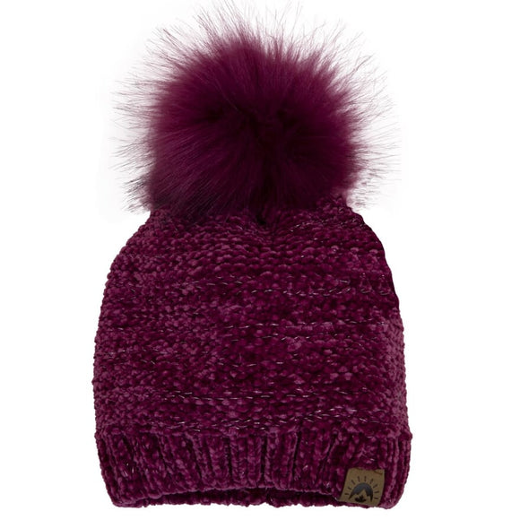 Calikids Winter Hat W2020 Chenille Knit Magenta