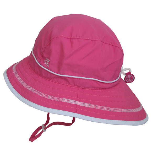 Calikids UV Beach Hat Hot Pink