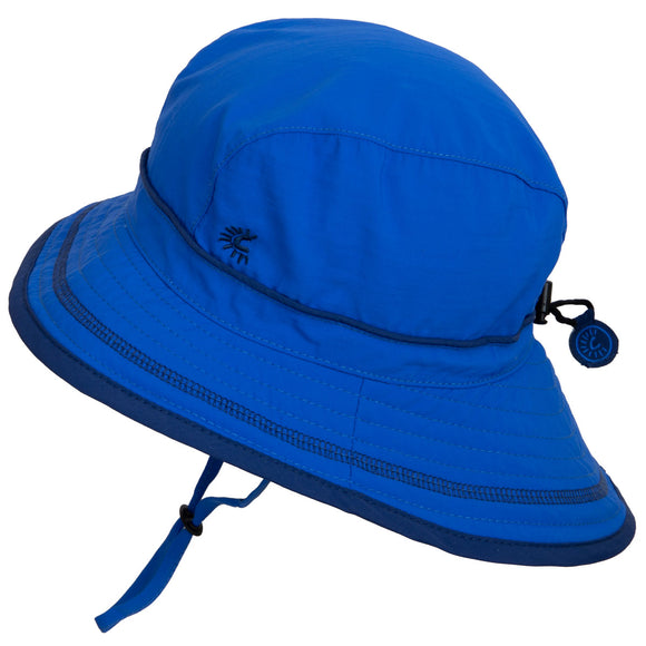 Calikids UV Beach Hat Nautical Blue
