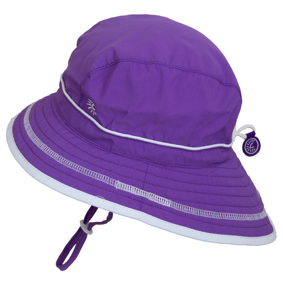 Calikids UV Beach Hat Purple
