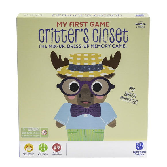 My First Game Critter's Closet