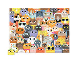 Crocodile Creek 72pc Puzzle Lots of Cats