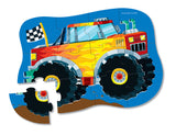 Crocodile Creek 12pc Mini Puzzle Monster Truck