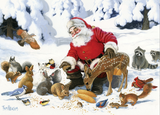 Cobble Hill 350pc Family Puzzle Santa Claus and Friends