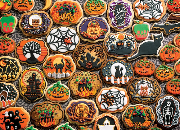 Cobble Hill 350pc Family Puzzle Halloween Cookies
