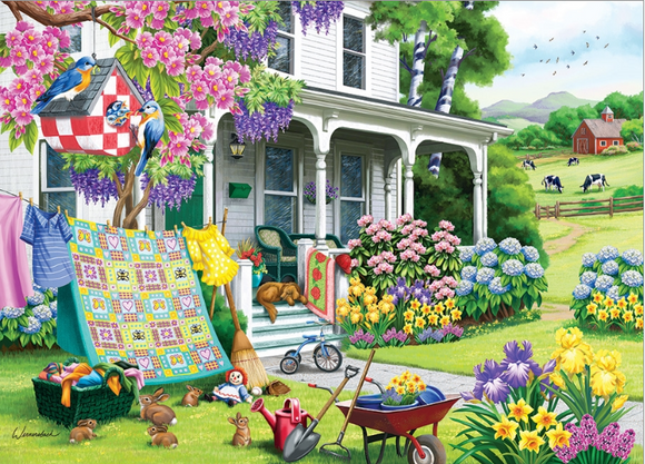 Cobble Hill 500pc Puzzle Spring Cleaning