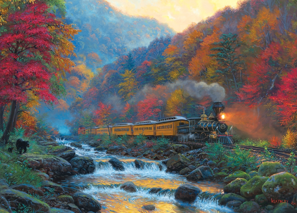 Cobble Hill 1000pc Puzzle 80229 Smoky Train