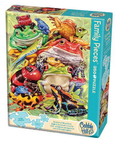 Cobble Hill 350pc Family Puzzle Frog Pile