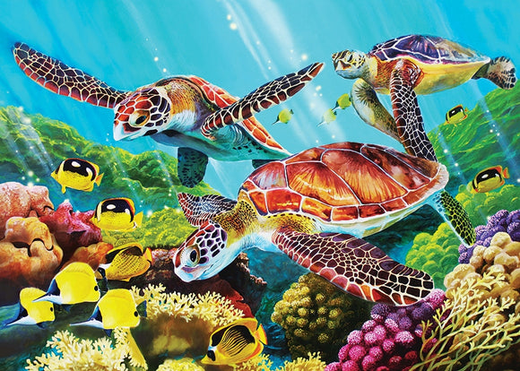 Cobble Hill 35pc Tray Puzzle Molokini Sea