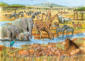 Cobble Hill 35pc Tray Puzzle 58813 Out of Africa