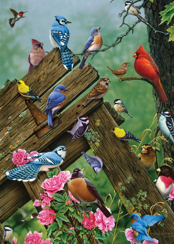 Cobble Hill 1000pc Puzzle 80086 Birds of the Forest