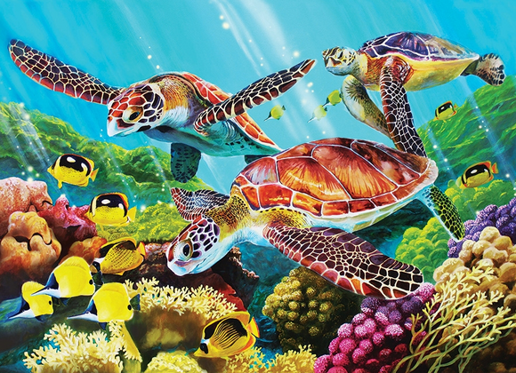 Cobble Hill 350pc Family Puzzle Molokini Current