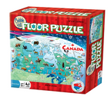 Cobble Hill 48pc Floor Puzzle Map of Canada