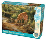 Cobble Hill 350pc Family Puzzle 54626 Deer Family