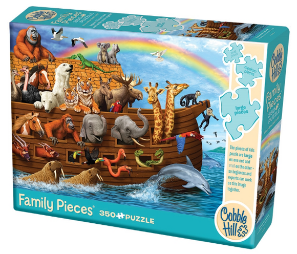 Cobble Hill 350pc Family Puzzle Voyage of the Ark