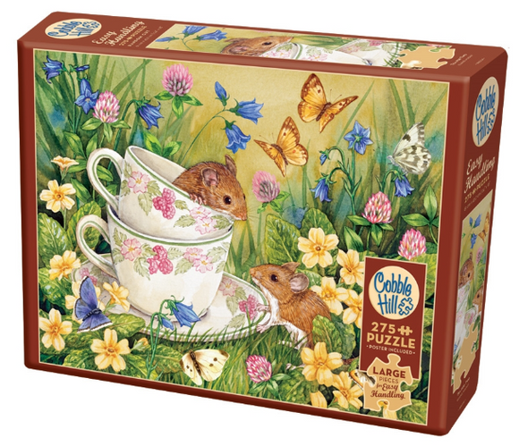 Cobble Hill 275pc Easy Handling Puzzle Tea for Two