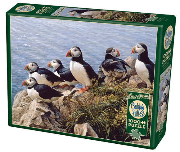 Cobble Hill 1000pc Puzzle Bright Day Birds