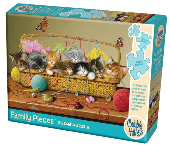 Cobble Hill 350pc Family Puzzle Basket Case