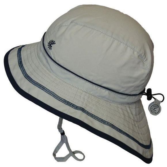 Calikids UV Beach Hat Quiet Grey