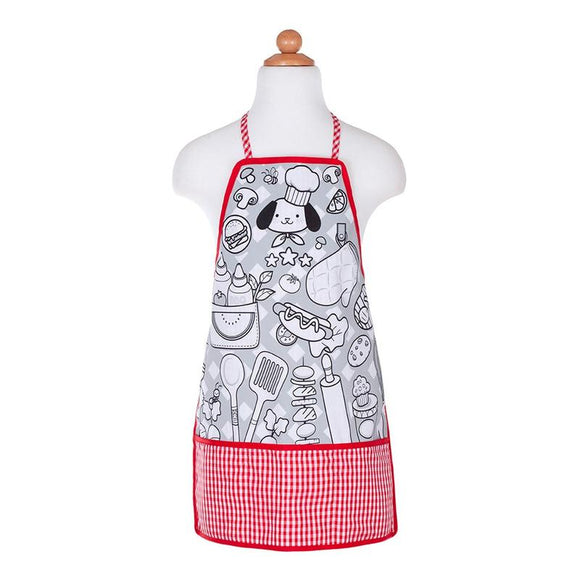 Great Pretenders 83042 Colour-An-Apron Chef