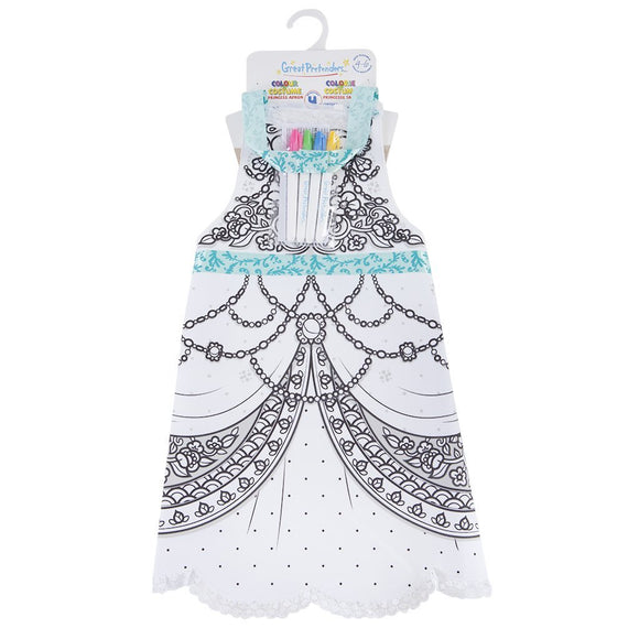Great Pretenders 83042 Colour-An-Apron Princess