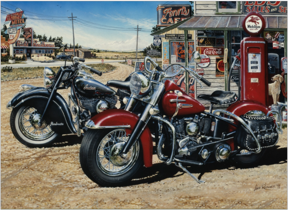 Cobble Hill 1000pc Puzzle 80062 Two for the Road