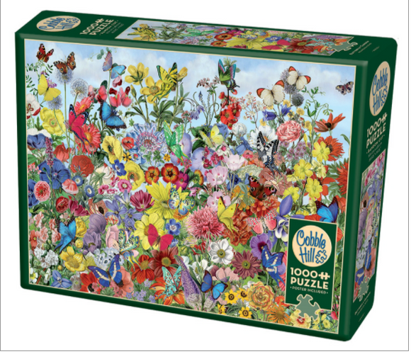 Cobble Hill 1000pc Puzzle 80032 Butterfly Garden