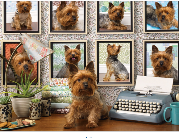 Cobble Hill 1000pc Puzzle 80038 Yorkies Are My Type