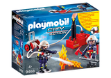 Playmobil 9468  City Action Fire Dept Firefighters with Water Pump