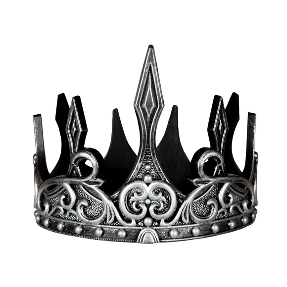 Great Pretenders 11560 Medieval Crown Silver/Black