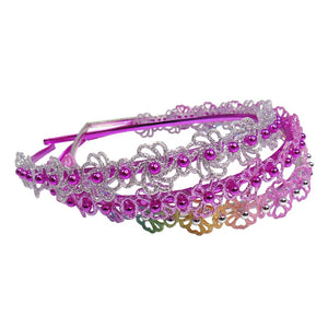Great Pretenders Glitter & Glam Headband