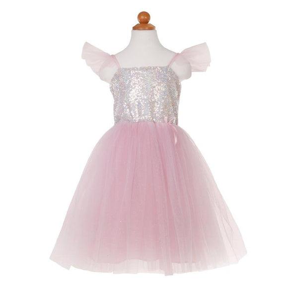 Great Pretenders 32365 Princess Dress Silver Sequins
