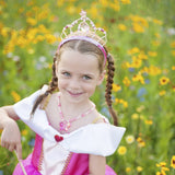 Great Pretenders 15310 Fairy Princess Tiara Pink & Gold