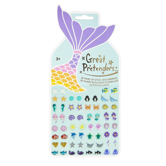 Great Pretenders 87504 Mermaid Sticker Earrings