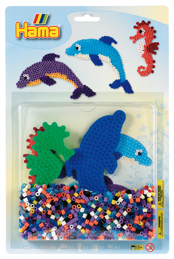 Hama 1100 (4058) Sea Creatures