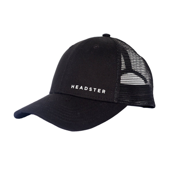 Headster Cap Sporty Black