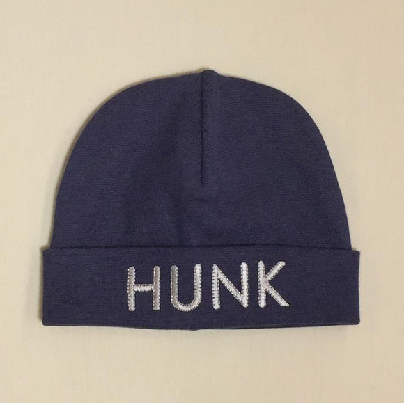 Itty Bitty Baby Hat HUNK Navy
