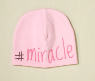 Itty Bitty Baby Hat #Miracle Pink