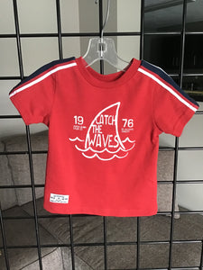 MID FINAL SALE Tee Catch the Waves