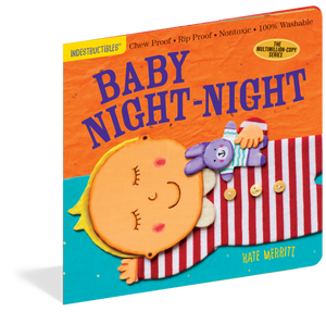 Indestructibles Baby Book Baby Night-Night